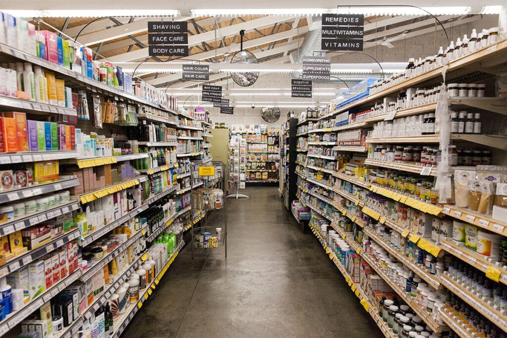 our wellness aisle