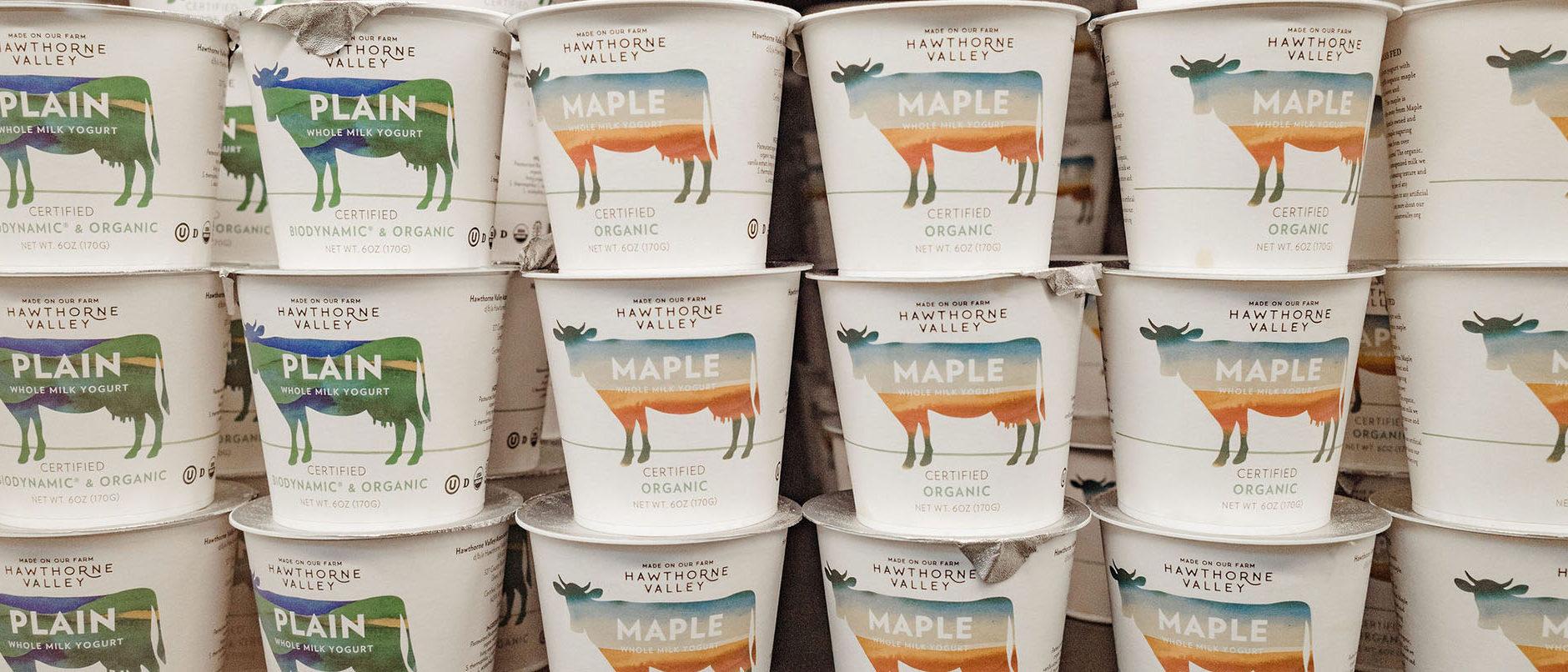 Hawthorne Valley Farm yogurt