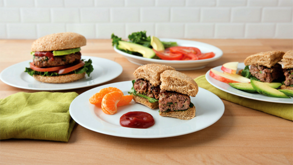 hidden veggie cheeseburgers