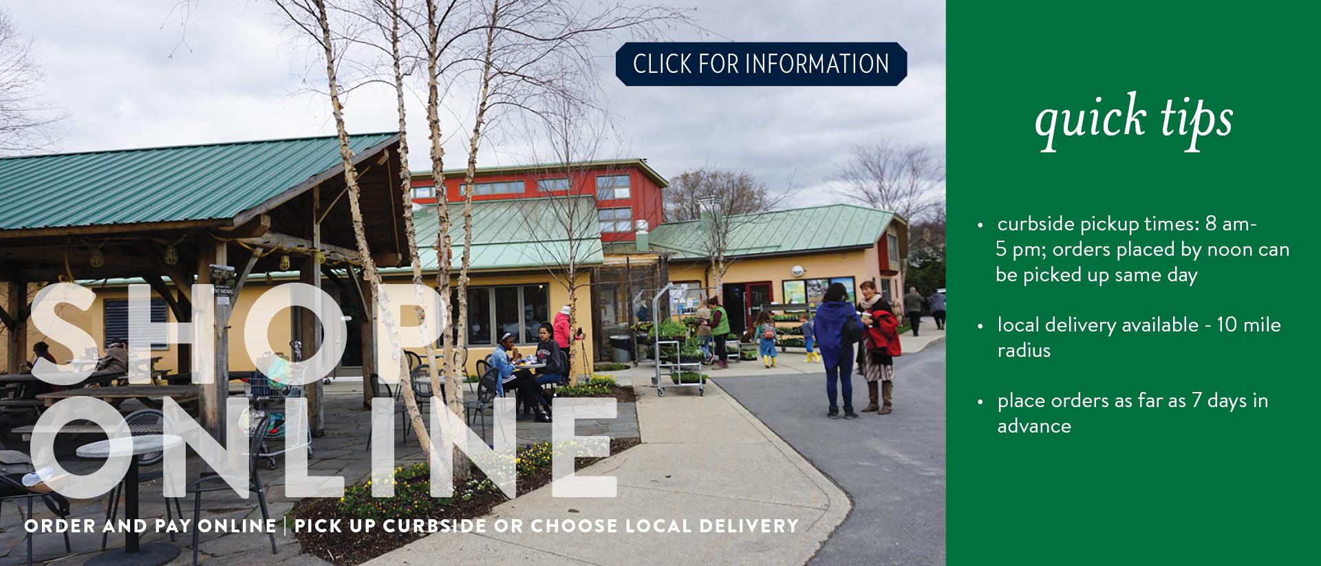 Shop Online Slide with Link to online shopping platform