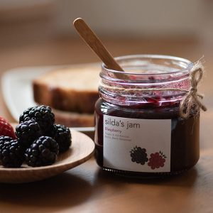 Silda's blaspberry jam