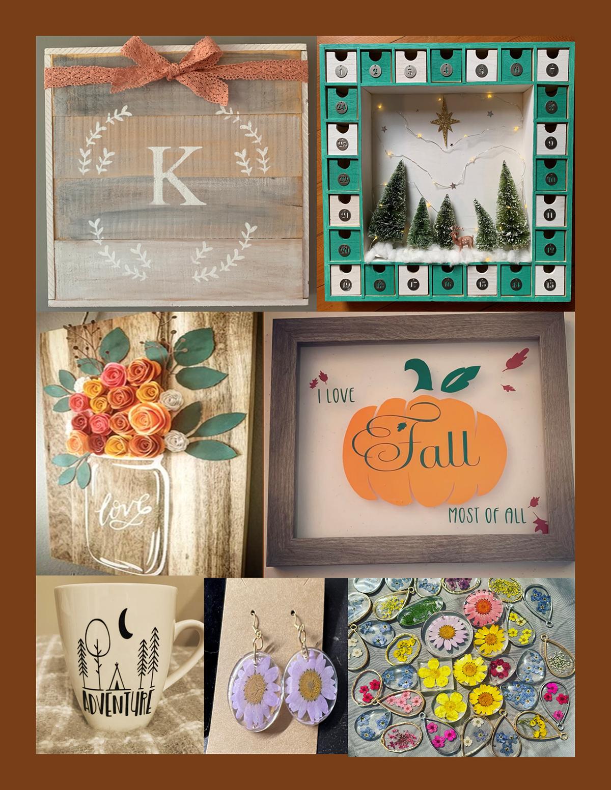 mandi & meg's handcrafted items