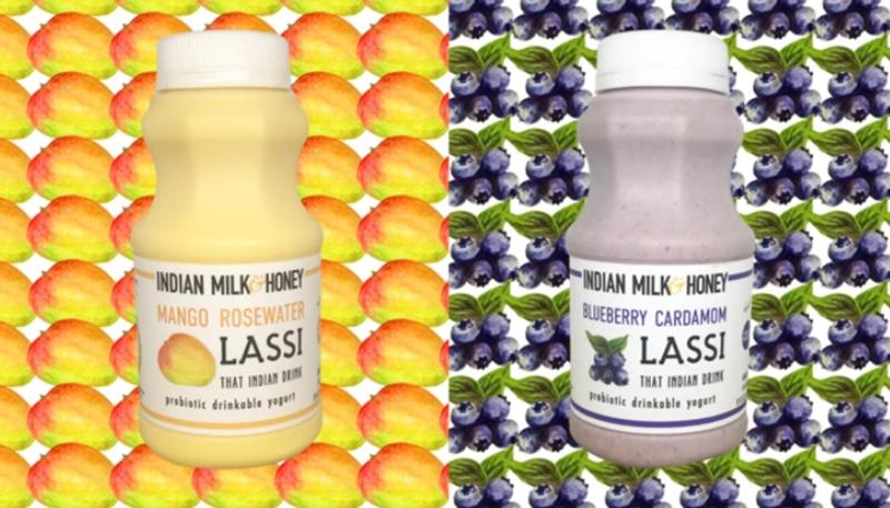 indian milk and honey lassi