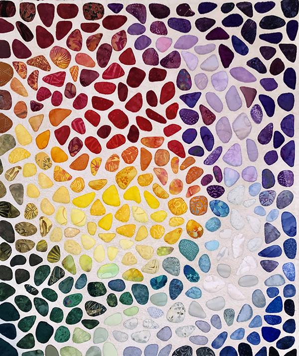 seaglass quilt, Lauren Wolff