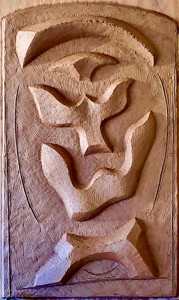 untitled terra cotta relief patrick stolfo